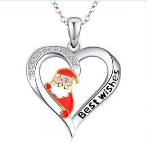 Gift women fashion Santa love pendant necklace jewelry women