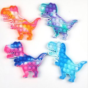 Fluorescence Colorful dinosaur decompression toy for depression office of student party