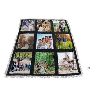 Sublimation Blanket White Blank Blankets for Sublimation Carpet Square Blankets for Sublimating Theramal transfer Printing Rug HWB10103
