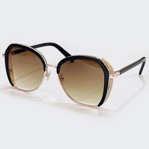 Sonnenbrillen 2021 Mode Frauen Männer Marke Desigel Legierung Frame Gradient Objektiv UV400 Schutz Eyewear Feminino