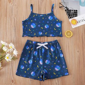 Toddler Clothing Set Summer Baby Girls Short Sleeve Letter Printed Tops Floral Bowknot Pants Outfits Vogue Clothes Ropa Sets