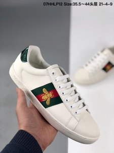 Footwear Acè Embroidered Low-Top bee Men Luxury Designer casual sneakers shoes classic top quality with box for gift