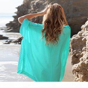 Swimwear Womens Sarong Bathing Cotton Suit Beach Bikini Beach Wear Plus Size Swimsuits For Women Beachwear Dress Cover Ups Bikini V neck