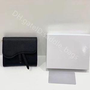 2021 Luxury Designer Lady Fashion Handbags Clutch Bags Saddle Lotus Classic Retro All-match Wallet Casual