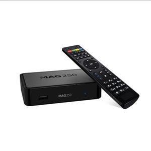 2021New TV Box Mag250W1 Linux Set Top Mag 250 со встроенным WiFi WLAN HEVC H.265 Smart Media Mag250 такой же, как Mag322 Mag322W1