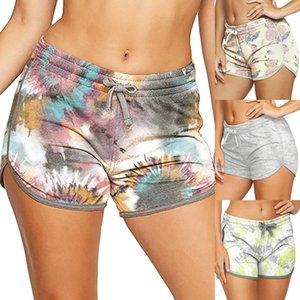 Women's Shorts Print Loose Fitness Running Short pants Summer Casual Ladies Workout Bottoms Female Sweatshorts