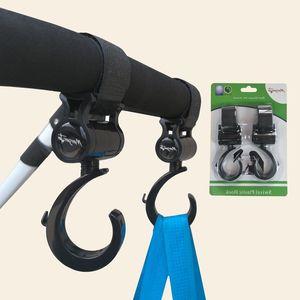 Sunveno Baby коляски крючки для коляска Pram Rotate 360 подгузника для подгузников вешалка Baby детей активность редукторов коляска аксессуары 2 шт. / Комплект 876 x2