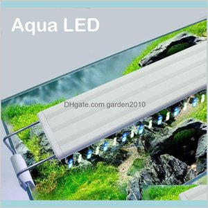 Aquariums Lighting & Fish Pet Supplies Home Garden Wrgb Led Light Water Plant Grow Brief Style Aquarium Tank Tropical System Bracket D