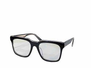 Optical Eyeglasses For Men and Women Retro Style 0123 Anti-blue light lens Square plate Full Frame with