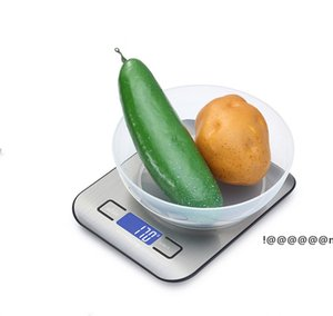 Food Digital Kitchen Scale Weight Grams and Oz for Baking and Cooking, Stainless Steel LCD Display Measure Tools EWF6261