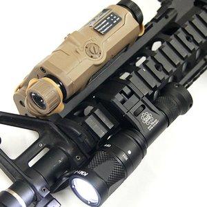 Cam Tactical Scout IFM Gun Light Gun Light Hard Anodizzazione Alluminio QD Cree Cree LED Torcia a doppia uscita Black / Scuro Terra