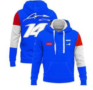 F1 포뮬러 원 레이싱 재킷 봄과 가을 팀 작업 까마귀 동일 스타일 사용자 정의