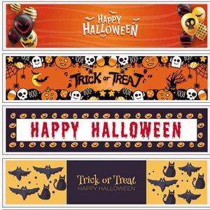 2021 Halloween Pumpkin cartoon printing Table Flag cover cloth Tablecloth Fashion Festival Chirstmas Party Restaurant Home Table Covers Ornamentation G78W0EQ