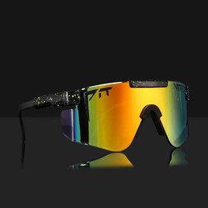 Orijinal Pit Viper Tasarımcı Güneş Gözlüğü Erkekler Için Serin Boy Spor Shades Kalite TR90 Çerçeve ANSI Z87.1 UV400 Lens Ücretsiz Kutusu 2021 ile