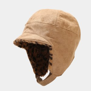 Women's Winter Bomeber Hats Thick Keep Ear Warm Windstop Female Russian Winter Caps Outdoor Skiing Accessories New