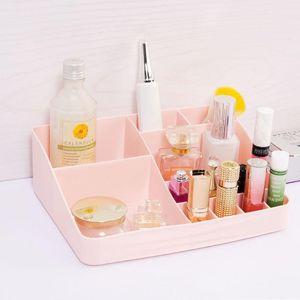Bathroom Storage & Organization 13 Grid Cosmetic Box Desktop Makeup Office Organizer Supplies