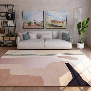 Carpets Washable Simple Light Luxury Carpet Living Room Bathroom Door Floor Bath Balcony Mat Doormats Big Rug Tapis Salon Rugs