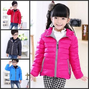 Wholesale Children's Outerwear Boy and Girl Winter Warm Hooded Coat Children Cotton-Padded Down Jacket Kid Jackets 3-10 Years 77 Y2