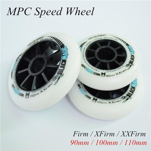 MPC inline speed skates wheel blue red black magic 90 100 100mm speed patines wheels Firm XFirm XXFirm road track marathon 8 pcs