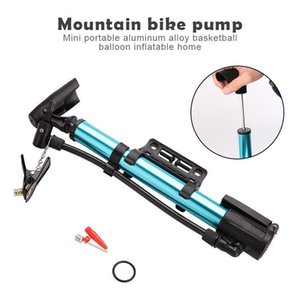 Bike Pumps Practical Mountain Inflator Pump Tyre Tool Travel Bicycle Inflating 4 Colors Metal Portable Durable