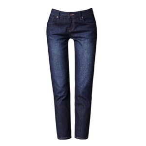 Europe 2021 Spring Autumn Women Fashion Skinny Zip Cotton Pencil Denim Vintage Bleached Pants Female Long Jeans Trousers Women's