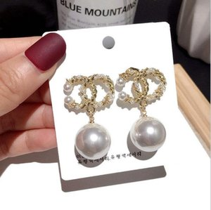 925 silver needle European and American big brand small fragrance open Earrings elegant lady Earrings