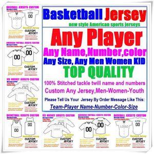 Пользовательские американые трикотажные трикотажные изделия для человека Wanmen Youth детей бейсбол хоккей баскетбол цвет спорт новый футбол джерси синий 4XL 5XL 6xL