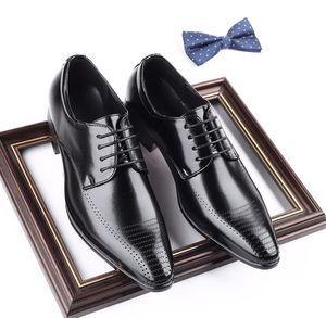 Street Men Designer Dress Casual Homecoming Shoes Business Fumatori Slipper Oxford calzature