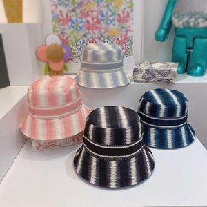 2021ss Tasarımcı Moda Kova Şapka Erkek Kadın Sokak Şapkası Için Monte Şapka 10 Stil Marka Harfler Yüksek Kalite