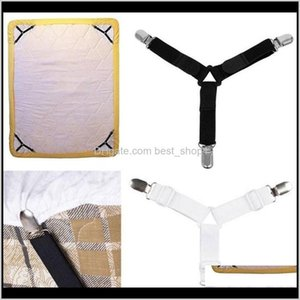 Other Bedding Supplies Bed Sheet Clips Triangle Fashion Multi Function Adjustable Non Slip Fixed Buckle Clothes Curtain Clip 8 8Jn Ff T1Fab