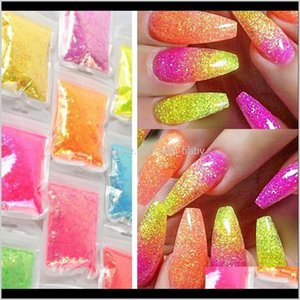 40Gbag Ultrathin Iridescent Nail Glitter Pigment Powder Holographic Acrylic Shinning Mermaid Paillette Sequins For Nails Decor Z6Xrc Fc64Z