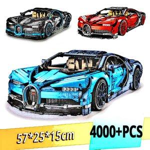 Technic Building Blocks Bricks 20086 20001 20097 20087 21047 13388 90056 Sport Car Model Toy Bugattiii Chiron Christmas