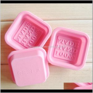 100Percent Handmade Soap Molds Square Sile Moulds Baking Craft Art Making Tool Diy Cake Mold Wb2338 S4Tzc 8Twq9