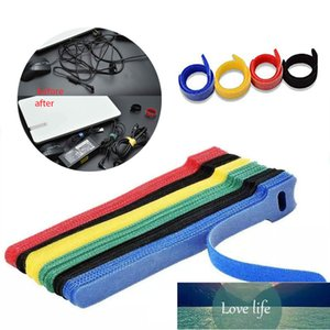 50Pcs Reusable Cable Ties Cord Nylon Organiser Tool Self Adhesive Clip Holder Ties Strap And Loop Cable Ties Multiple Colour