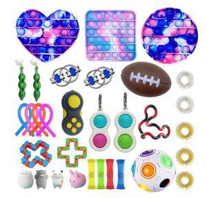 Fidget Toys Anies Stream Set Усилительные струны POPIT POPIT Подарочная упаковка Взрослые Детей Squishy Sensosory Antistress Решение FITET