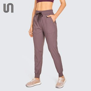 Running Pants Women's Lightweight Studio Joggers Striped Casual Drawstring Lounge Athletic Travel With Pockets