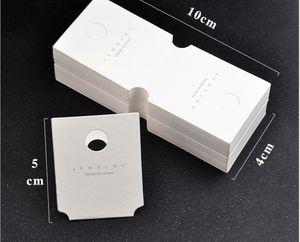2021 paper fashion Earring card spot bracelet jewelry packaging high grade Necklace cardboard Korean PP04