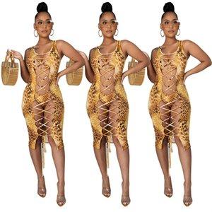 Women Swimwear 3 piece set summer clothes bikini leopard sleeveless bandage bra coat beachwear t-shirt jacket briefs bathing wear vest wrap underwear bodysuit 01416