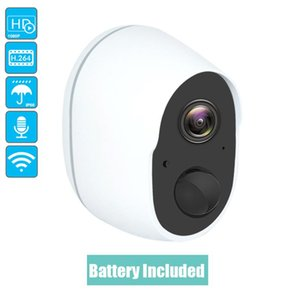 Камеры 1080P Беспроводной аккумулятор IP CCTV Камера Открытая Водонепроницаемая Безопасность Перезаряжаемый Wi-Fi Внутренний Дом 130 °