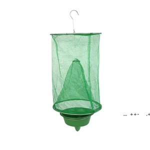 Practical Green Insect Trap Bug ECO Suspension Fly Catcher Cage Small Network Outdoor Tool Pest Control FWE9403