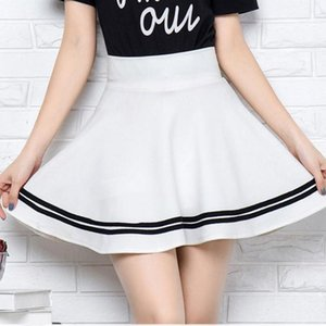 Skirts Sexy Mini A-Line Short For Girls Winter And Summer Style Women Skirt 2021 Fashion High Waist Elastic Female