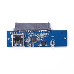 3.0 To 2.5in SATA 7+15Pin Hard Drive Adapter For SSD & HDD Laptop Desktop PC Computer Cables Connectors