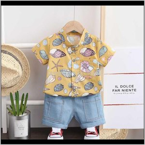 Baby, & Maternitysummer Toddler Kids Baby Boy Gentleman Clothing Sets Short Sleeves Tops+Pants Shorts Outfits Gentle 2Pcs Set Drop Delivery 2
