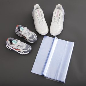 100c Sneaker Shoes Shrink Wraps Packing Bags Large Protector For Men Women Effectively Avoid Yellowing Keep Dust Away Storage