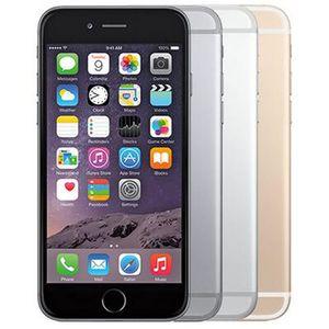 Refurbished Original Apple iPhone 6 Plus With Fingerprint 5.5 inch A8 Chipset 1GB RAM 16 64 128GB ROM IOS 8.0MP Unlocked LTE 4G Phone Wholesale Free DHL 5pcs