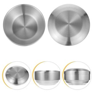 Bowls 1 Set Of Home Stainless Steel Bowl Container Baby With Lid Rice Holder