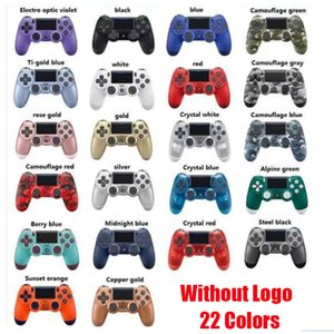 New Bluetooth Wireless Controller For PS4 Vibration Joystick Gamepad Game Handle Controllers For Play Station Without Logo With Retail Box