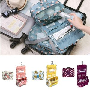 Pouch Portable Cosmetic Travel Bags Toiletry Waterproof Bag Xhswr Organizer -OPK Makeup Girls Women Hanging Cmouw