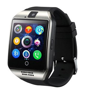 Q18 Smart Watch Watches Bluetooth SmartWatch наручные часы с камерой TF SIM-карточный слот / шагомер / анти-потерян / для телефонов Android Android