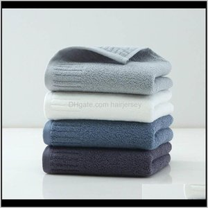 Cotton Polyester Face Towel Solid Square Soft Quick Drying Absorbent Bathroom Bath Hair Hand Towels Washcloths For Spa Xq4Zs Xejfu